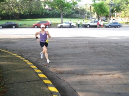 Lean, Mean and 5th place in the Sunfest 5K (Photo by Bald Runner)