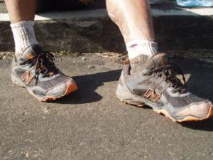 Dirty, muddy shoes are prone to blisters.