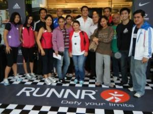Welcome to RUNNR at Bonifacio High Street