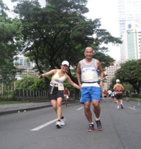 Having fun on the run. Globe 2009